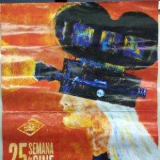 Coleccionismo de carteles: CARTEL 25 SEMANA DE CINE VILLENA 2006 - PATROCINADO POR EL AYUNTAMIUENTO DE VILLENA (ALICANTE). VILL. Lote 42667510