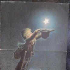 Coleccionismo de carteles: DIBUJO DE FERRÀNDIZ (CHRISTMA TAMAÑO 43 X 23). Lote 43063724