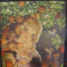 Coleccionismo de carteles: DIBUJO DE FERRÀNDIZ (CHRISTMA TAMAÑO 45 X 32,5). Lote 43063791