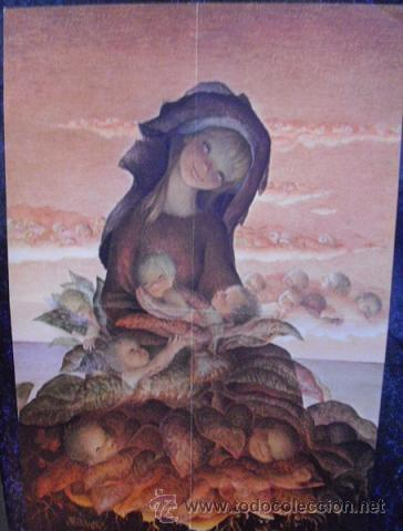 DIBUJO DE FERRÀNDIZ (CHRISTMA TAMAÑO 45 X 29,5) (Coleccionismo - Carteles Pequeño Formato)