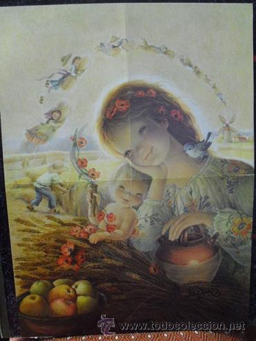 DIBUJO DE FERRÀNDIZ (CHRISTMA TAMAÑO 45 X 32,5) (Coleccionismo - Carteles Pequeño Formato)