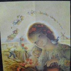 Coleccionismo de carteles: DIBUJO DE FERRÀNDIZ (CHRISTMA TAMAÑO 45 X 32,5). Lote 43063846