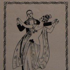 Collectionnisme d'affiches: PUBLICIDAD - AÑO 1924 - 12 X 8 CM - RECORTE EMILIA TUTUSAUS PROFESORA DE BAILE. Lote 43161471