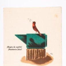 Coleccionismo de carteles: CARTEL DE PAPEL MEDICAMENTO PROFAMINA, INSTITUTO FARMACOLOGICO LATINO DE MADRID. Lote 43824376