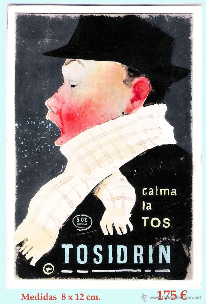 Coleccionismo de carteles: Publicidad de Tosidrin - Foto 3 - 44096303