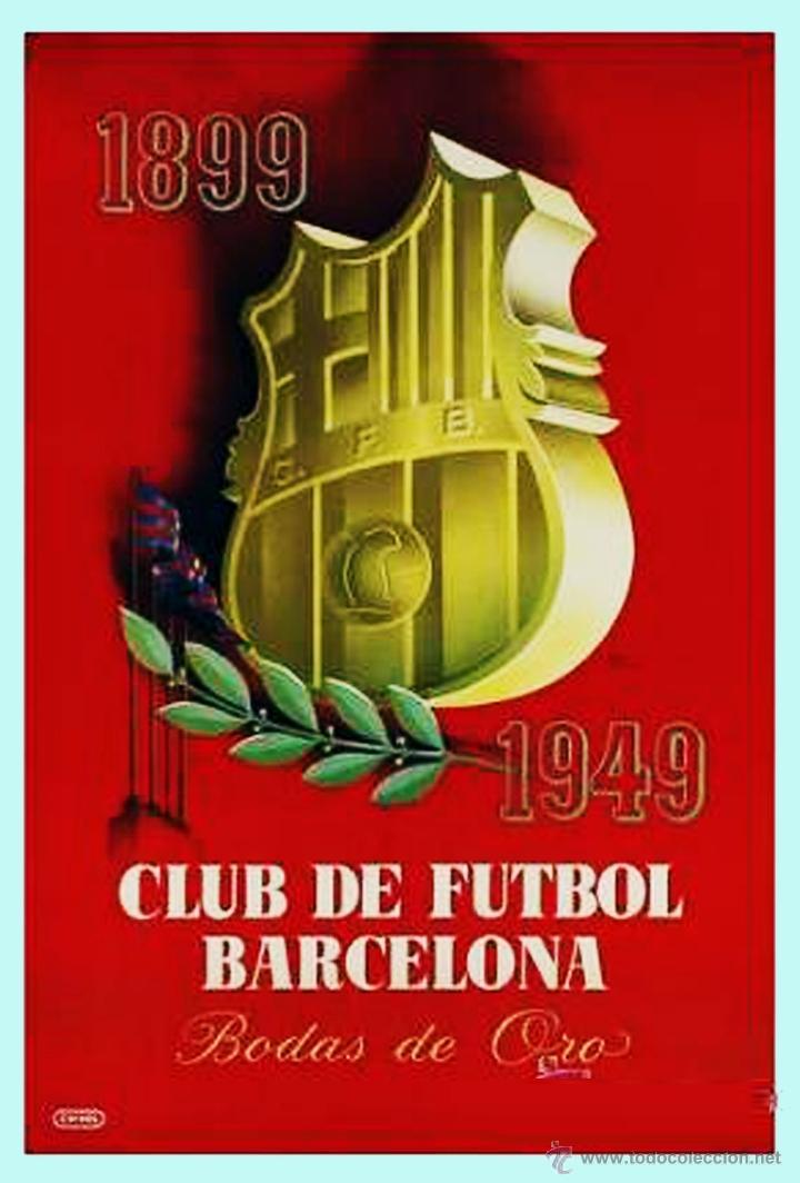 Coleccionismo de carteles: Cartel FC Barcelona por Rey Padilla - Foto 4 - 44096303