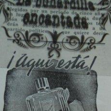Coleccionismo de carteles: PUBLICIDAD REVISTA 6/1/1946 - MASAJE MYRAPOL SANFELIX BARCELONA. Lote 44854667