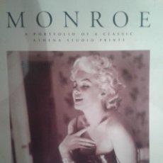 Coleccionismo de carteles: PORTAFOLIO DE CARTELES DE MARILYN MONROE ,EXTRANJERO(OFERTA A MITAD DE PRECIO). Lote 45294152