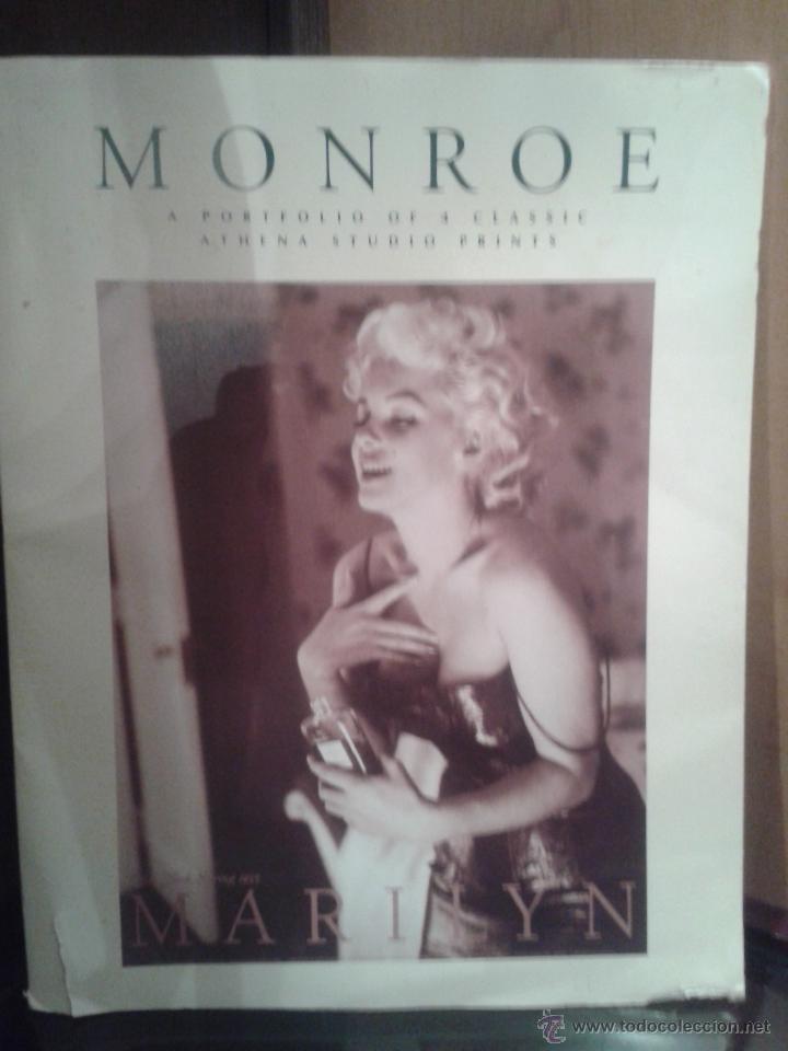 Coleccionismo de carteles: PORTAFOLIO DE CARTELES DE MARILYN MONROE ,EXTRANJERO(OFERTA A MITAD DE PRECIO) - Foto 2 - 45294152
