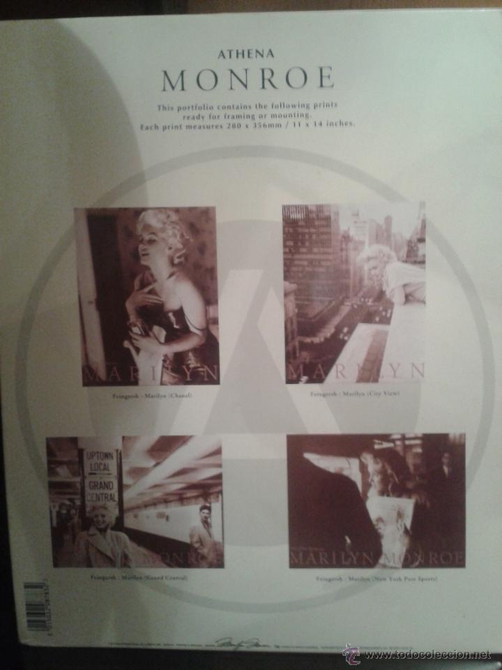 Coleccionismo de carteles: PORTAFOLIO DE CARTELES DE MARILYN MONROE ,EXTRANJERO(OFERTA A MITAD DE PRECIO) - Foto 3 - 45294152