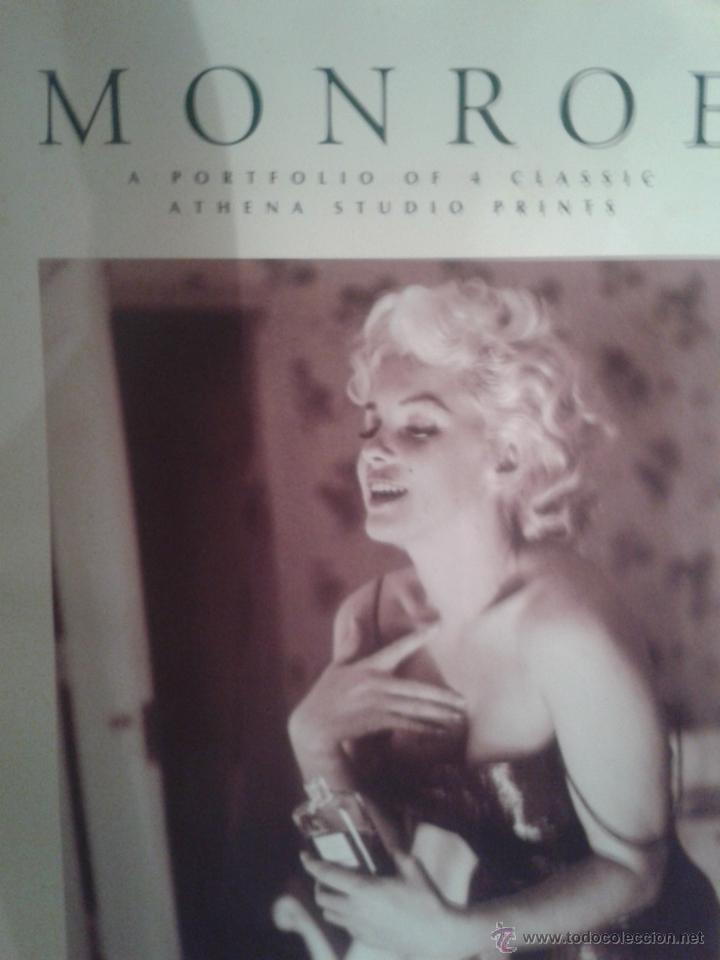 Coleccionismo de carteles: PORTAFOLIO DE CARTELES DE MARILYN MONROE ,EXTRANJERO(OFERTA A MITAD DE PRECIO) - Foto 5 - 45294152