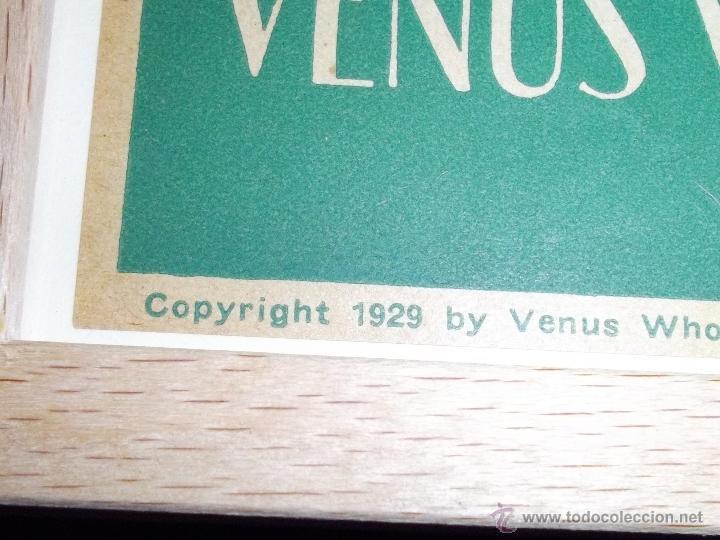 Coleccionismo de carteles: RARO CARTEL BELLISIMA LITOGRAFIA ORIGINAL 1929 USA ACEITE VENUS PIN UP ART DECO MODERNISTA - Foto 3 - 45358713