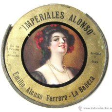 Coleccionismo de carteles: CARTEL PUBLICIDAD DE IMPERIALES - CHOCOLATES EMILIO ALONSO. LA BAÑEZA. LEON AÑOS 20 - 30. Lote 46133975