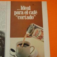 Coleccionismo de carteles: PUBLICIDAD - 1980 - COLECCION NESTLE - LECHE CONDENSADA IDEAL. Lote 46234680