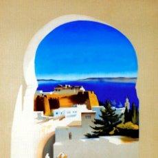 Colecionismo de cartazes: MARRUECOS. TÁNGER. LÁMINA CARTEL. Lote 240388705