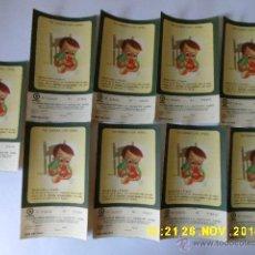 Coleccionismo de carteles: PUBLICIDAD LABORATORIOS PROFIDEN , 9 NUMEROS CONTINUOS, VER OTRA DESCRIPCION.. Lote 46558245