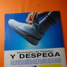 Colecionismo de cartazes: PUBLICIDAD 1986 - COLECCION ROPA - CALZADOS PAREDES. Lote 46561804