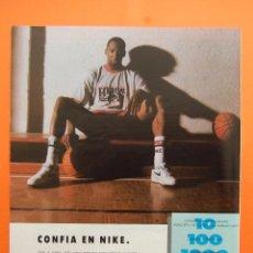 Colecionismo de cartazes: PUBLICIDAD 1990 - COLECCION ROPA - CALZADO NIKE SPORTS WEAR. Lote 46932789