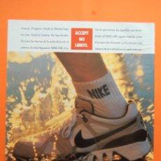 Colecionismo de cartazes: PUBLICIDAD 1989 - COLECCION ROPA - CALZADO NIKE AIR . Lote 120957560