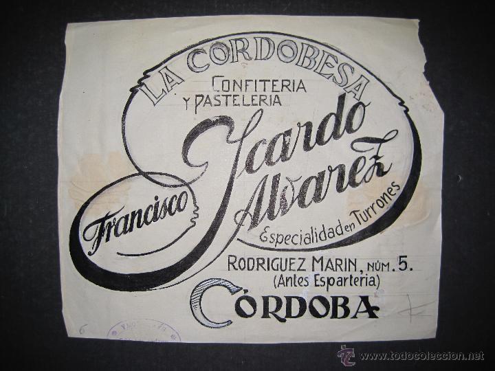 CORDOBA - FRANCISCO ICARDO - ORIGINAL PUBLICIDAD - (V-1753) segunda mano