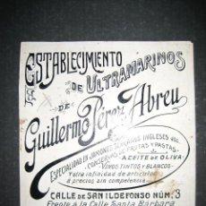 Coleccionismo de carteles: CANARIAS - GUILLERMO PEREZ - ORIGINAL PUBLICIDAD - (V-1770). Lote 47207347