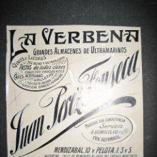 Coleccionismo de carteles: CANARIAS - JUAN PEREZ FONSECA - ORIGINAL PUBLICIDAD - (V-1772). Lote 47207358