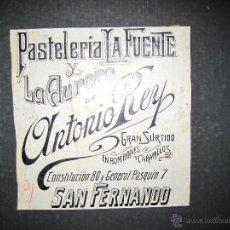 Coleccionismo de carteles: CADIZ - ANTONIO REY - ORIGINAL PUBLICIDAD - ( V-1796). Lote 47240265