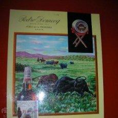 Coleccionismo de carteles: BRANDY FUNDADOR.PEDRO DOMECQ.JEREZ DE LA FRONTERA.LIT.JEREZ INDUSTRIAL.AÑO 1962.TAMAÑO: 35 X 24 CTMS. Lote 47506811