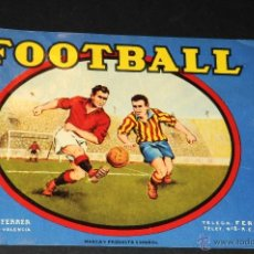 Coleccionismo de carteles: CARTEL FOOTBALL NORBERTO FERRER CARCAGENTE VALENCIA. Lote 47573009