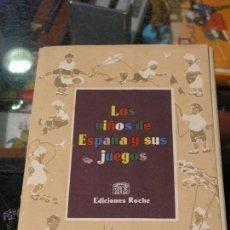 Coleccionismo de carteles: COLECCION 20 LAMINAS LOS NIÑOS DE ESPAÑA Y SUS JUEGOS ROCHE. Lote 39954801