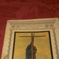 Coleccionismo de carteles: FOLLETO SEMANA SANTA SEVILLA 1931. Lote 47877070