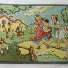 Coleccionismo de carteles: CARTEL LITOGRAFICO AÑOS 40- 50 PARA JUGUETES ARCHER. Lote 47907623