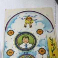 Coleccionismo de carteles: CARTEL LITOGRAFICO AÑOS 40- 50 PARA PIN BALL JUGUETES ARCHER. Lote 47907939