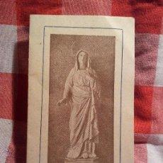 Coleccionismo de carteles: DIPTICO FOLLETO FIESTA ANUAL VIRGEN DE LA ESPERANZA DE FIGUEROLA DEL CAMP..VALLS TARRAGONA..1941. Lote 48467871