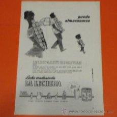 Coleccionismo de carteles: PUBLICIDAD 1955 - COLECCION COMIDAS - LECHE CONDENSADA LA LECHERA. Lote 48477908