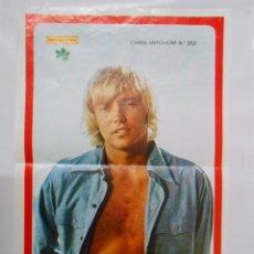 Coleccionismo de carteles: CARTEL POSTER CHRIS MITCHUM. REVISTA DIEZ MINUTOS. TDKP2. Lote 48608625