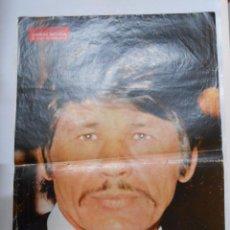 Coleccionismo de carteles: CARTEL POSTER DE LA REVISTA SEMANA. CHARLES BRONSON. EL DURO DE HOLLYWOOD. TDKP2. Lote 48608766