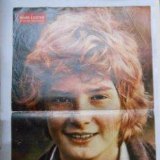 Coleccionismo de carteles: CARTEL POSTER DE LA REVISTA SEMANA. MARK LESTER. EL MEJOR ACTOR INFANTIL DEL MUNDO. TDKP2. Lote 48608798