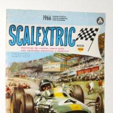 Coleccionismo de carteles: CARTEL SCALEXTRIC NUEVO Y NOVEDADES 1966. Lote 48686551