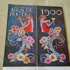 Coleccionismo de carteles: MAS GALLAU - SALA DE FIESTAS 1900 - . Lote 48745191