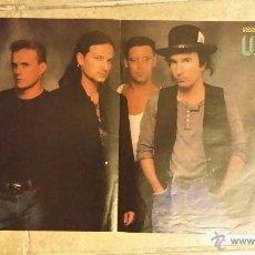 Coleccionismo de carteles: POSTER DE U2 Y ERASURE- POPCORN - TAMAÑO 41X29 CM. Lote 49063573