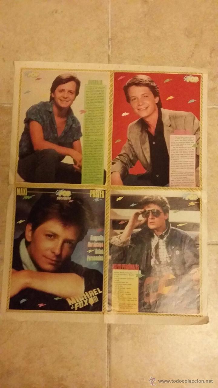 Coleccionismo de carteles: poster michael j. fox. Super pop - tamaño 48x83 - Foto 2 - 49101398