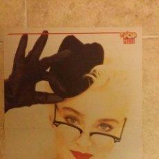 Coleccionismo de carteles: POSTER MADONNA Y TOM CRUISE - SUPER POP - TAMAÑO 29X42 CM. Lote 49101616
