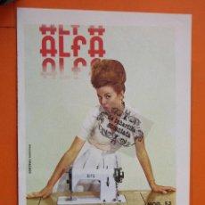 Coleccionismo de carteles: PUBLICIDAD 1964 - COLECCION MAQUINAS DE COSER - ALFA. Lote 62148828