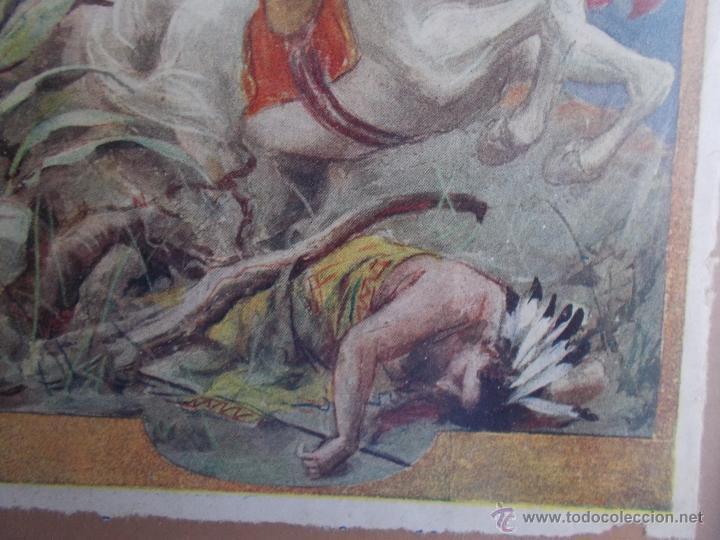 Coleccionismo de carteles: CARTEL MODERNISTA SALGARI LA REINA DEL PACÍFICO, ART DECÓ, ART NOUVEAU - Foto 6 - 49252532