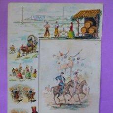 Coleccionismo de carteles: MISA SHERRY´S .- CARTEL PUBLICITARIO LITOGRAFIADO. Lote 49608225