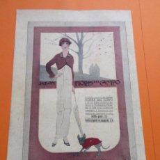Coleccionismo de carteles: PUBLICIDAD 1915 - COLECCION PERFUMES - FLORES DEL CAMPO - TRASEAR LOINAZ SAN SEBASTIAN. Lote 50275470