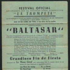 Coleccionismo de carteles: CARTEL FESTIVAL OFICIAL. . Lote 50320934