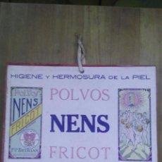 Coleccionismo de carteles: CARTEL POLVOS NENS / FRICOT / FRANCISCO BERTRAN / BARCELONA / AÑOS 30. Lote 50759894