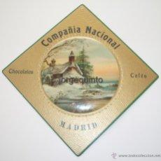 Coleccionismo de carteles: CARTEL PUBLICITARIO. COMPAÑIA NACIONAL, CHOCOLATES, CAFES, MADRID.. Lote 50710879